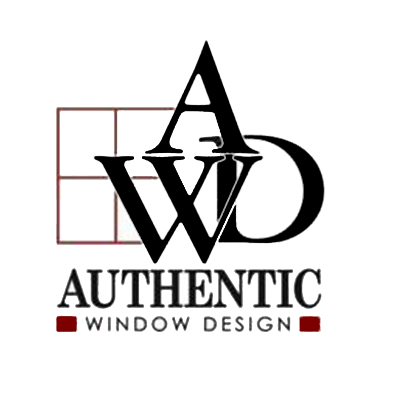 authentic window design logo